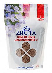 Лен семена биокор женское здоровье 180г