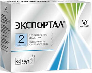 Экспортал 10г 20 шт. порошок для приготовления раствора для приема внутрь пакет вилар фармцентр