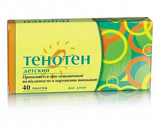 Тенотен детский 40 шт. таблетки