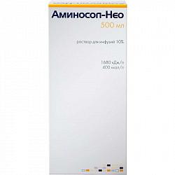 Аминосол-нео 10% 500мл раствор для инфузий