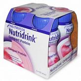 Нутридринк компакт протеин смесь клубника 125мл 4 шт.
