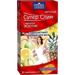 Супер слим чай экзотик 30 шт. фильтр-пакет