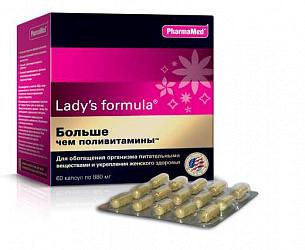 Леди'с формула больше чем поливитамины капсулы 60 шт.