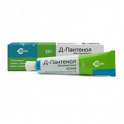 Пантенол-д 5% 25г крем