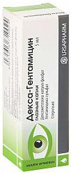 Декса-гентамицин 5мл капли глазные