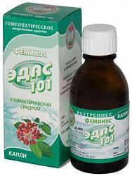 Эдас-101 25мл капли гомеопатические (фемиус)