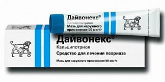 Дайвонекс 0,005% 30г мазь