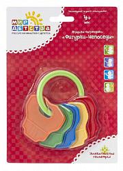 Мир детства 21303 игрушка-погремушка фигурки-непоседы