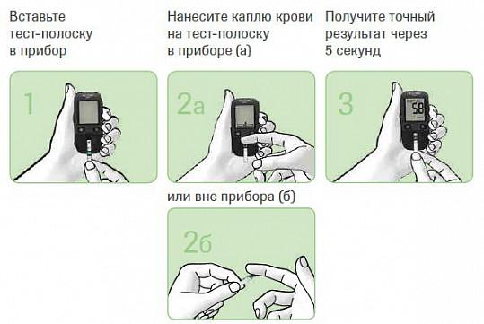 Тест-полоски акку-чек актив, 100 шт., фото №2