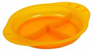 Пома тарелка для кормления для детей трехсекционная 6+ 300мл (2315)