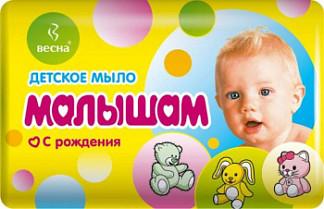 Весна мыло детское малышам с рождения 90г