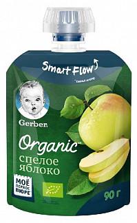 Гербер органик пюре спелое яблоко 90г