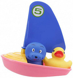 Курносики игрушка для ванной веселая регата арт.25087