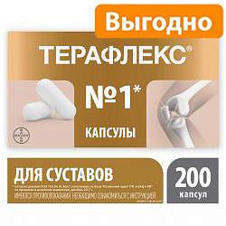 Терафлекс 200 шт. капсулы