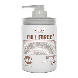 Оллин фулл форс маска для волос интенсивная восстанавливающая с маслом кокоса 650мл