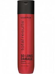 Матрикс тотал резалт соу лонг дэмэдж шампунь восстанавливающий для поврежденных волос 300мл