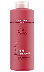 Велла бриллианс бальзам-уход для окрашенных жестких волос 1000мл