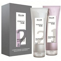 Оллин перфект хэир универсальный ухаживающий биокомплекс для волос оксиморон (крем 250мл+гель 250мл)