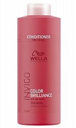 Велла бриллианс бальзам для окрашенных нормальных/тонких волос 1000мл