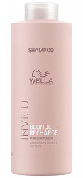 Велла блонд речардж шампунь-нейтрализатор желтизны для холодных светлых оттенков 1000мл