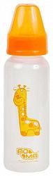 Пома бутылочка большая с силиконовой соской быстрый поток 6+ (3810) 240мл