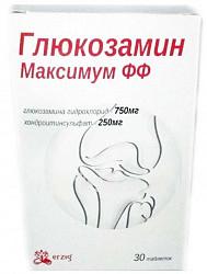 Глюкозамин максимум фф таблетки 30 шт.