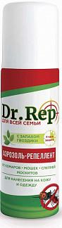 Доктор реп аэрозоль-репеллент от комаров и мошек 150мл