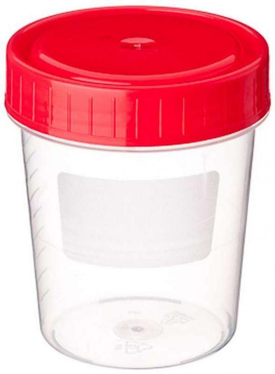 Клинса контейнер стерильный для биоматериалов универсальный 125мл, фото №1