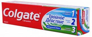 Колгейт тройное действие зубная паста 50мл