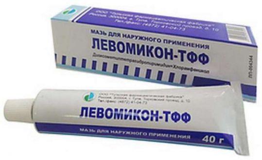 Левомикон-тфф мазь для наружного применения 40г, фото №1