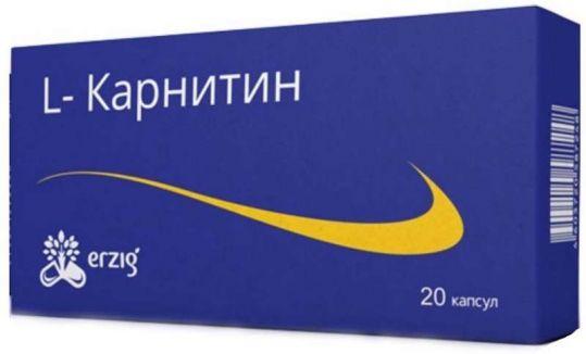 Л-карнитин капсулы 20 шт., фото №1