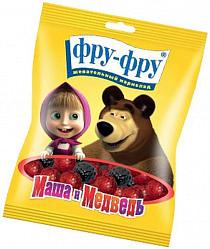 Фру-фру маша и медведь мармелад жевательный ягодки (малина-ежевика) 100г