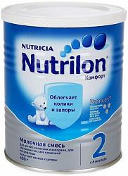 Нутриция нутрилон комфорт 2 смесь молочная 400г