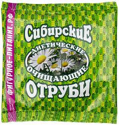 Отруби сибирские диетические очищающие 200г