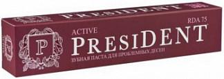 Президент профи актив зубная паста 50мл