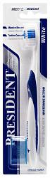 Президент уайт зубная щетка средняя арт.4905