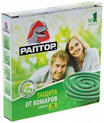 Раптор спираль от комаров без запаха 10 шт.