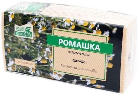 Ромашки цветки наследие природы 20 шт. фильтр-пакет, фото №1