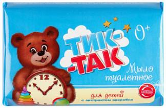 Тик-так мыло детское экстракт зверобоя для нежной/чувствительной кожи 150г