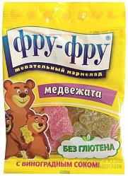 Фру-фру мармелад жевательный медвежата 100г