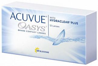 Акувью оазис линзы контактные r8,4 -3,25 12 шт.