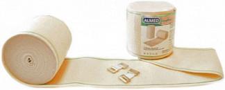 Альмед бинт эластичный медицинский компрессионный вр 100ммх3м с застежкой
