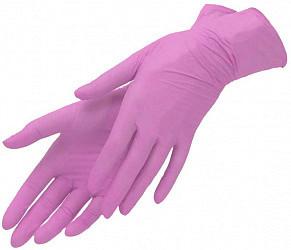 Мануал нитрил перчатки смотровые нестерильные неопудренные sn209 размер l пара