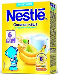 Нестле каша молочная овсяная груша/банан 6+ 220г
