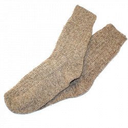 Носки из верблюжьей шерсти размер 23