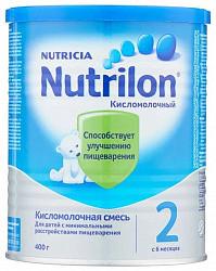 Нутриция нутрилон кисломолочный 2 смесь молочная 400г