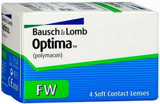 Оптима фв линзы контактные мягкие bc 8,7 -1,00 4 шт.