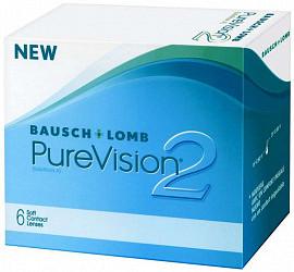 Пюр вижн 2 линзы контактные мягкие (balafilcon a) -7,00 6 шт.