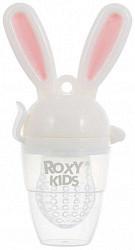 Рокси кидс ниблер с силиконовой сеточкой банни твист 6+ арт.rfn-006 розовый
