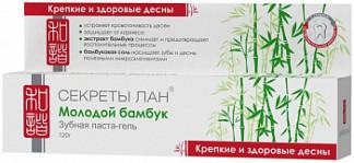 Секреты лан зубная паста молодой бамбук.крепкие и здоровые десны 120г